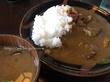 鳥取市有名店ランチ たくみ割烹店 みそ煮込カレーは大盛も同料金!!