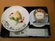 ベイクドチーズケーキとカフェラテアート♡Bianchi Cafe