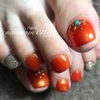 summerオレンジ 奈良 ネイルサロン エミュー