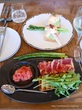 スパニッシュレストランでオープンサンド♡Lubina Hibiya