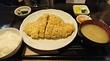 雪室熟成豚の特ロースかつ定食@成蔵(高田馬場)