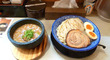 濃厚魚介スープの「つけ麺」@「下品なぐらいダシのうまいラーメン屋」都島店