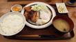 新宿「つるかめ食堂」鯖と唐揚げ定食