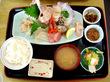 2009-6-28 小樽市 民宿青塚食堂の刺身定食