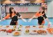 意外な美味しさ?!メロンパンサンドハンバーグ☆東京ドーム名物が木村屋とコラボで進化!