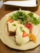 ローストポークのチーズフォンデュ風サンド♡アフタヌーンティーティールーム