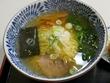 四季よし@本八幡★★☆塩らーめんと串カツとミニライス(計700円て)