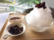 老舗饅頭店の夏の名物!新宿『花園茶寮あんと』の『富士山天然かき氷 釜だしぬれ甘なつと』