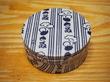 スチームクリーム/伝統工芸コラボ「梨園染」柄の缶