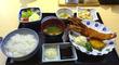 「有頭海老フライ定食」@割烹「香悦(かえつ)」