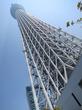 東京スカイツリーと東京タワーと東京駅丸の内駅舎