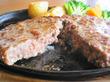 ステーキのどん 西明石店「超・粗挽きハンバーグステーキ(250g)」