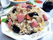 新板橋「龍王」(2回目) これが噂の板橋チャーハン!! キムチ炒飯とナスバター炒飯。