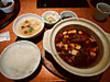 ■浜木綿 牡蠣の四川麻婆豆腐ランチ