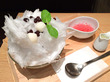 「あんと」@新丸ビル お花見気分が味わえる!「富士山天然かき氷 さくら」