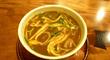 「温カレー蕎麦セット」@「そば處 とき」・・・北新地