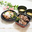 厚切り牛タン&ローストビーフ丼をテイクアウト「肉丼専門店 にくふじ」☆