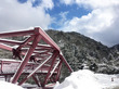 石川旅終わり。雪の街歩きとボルガライスとお土産。