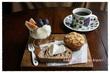 おうちモーニング その1651 ~シニフィアン・シニフィエのパンと、ミカヅキ堂のマフィン~