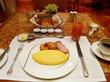 オムレツ♡ペニンシュラの朝食@ザ・ペニンシュラ東京ザ・ロビー
