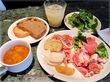 620円で生ハム食べ放題モーニング☆バルマルシェ コダマ エキュート品川店