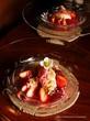 デセールルコントワールの冬のコース、苺とショコラ♡Dessert Le Comptoir