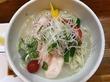 【千葉県最先端の冷やし鶏白湯ラーメン】千葉県最先端の冷やし鶏白湯ラーメン、2013年から毎年夏の風物詩、成田「麺や福一」にて