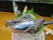 Pon×Kotsu(ポンコツ)@明石・銀座通り「活鯛肝刺・さんま刺身・マスターのかす汁・他」