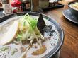 【福岡】呼び戻しブラック&野菜ラーメン♪@久留米大砲ラーメン 福岡小田部店