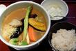 旬野菜カレーうどん/古奈屋