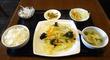 日替わりランチAは「鶏モモ、卵とキャベツ炒め」でした♪@「錦厨(キンチュウ)」