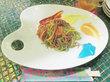 KAWAII MONSTER CAFE 原宿 |後編 ランチショータイム / レインボーパスタ【キティコラボ】