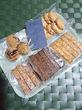山梨③河口湖♪『うづらや』海塩岩塩や黒胡麻黒糖などザクザク食感のクッキーいろいろ~☆