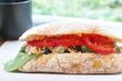 プリンチ代官山限定サンドでモーニング♪「チャバッタ サンドイッチ」