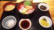 東新宿「築地市場298」海鮮丼セット