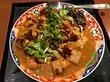今週は、豚バラだいこんカレーとひじきと粉豆腐のスパイス煮♪@肥後橋南蛮亭