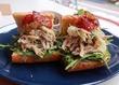 """ツナサンドを超えた、""""夏の豚ツナサンド""""! フェンネルの心鎮める香りと共に涼風が駆け抜ける、絶品サンドイッチです♪ 西荻窪・3&1 Sandwich トレ エ ウーノ"""