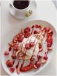 カフェ ヴァニエールでショートケーキ逆バージョン!仙川