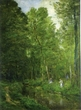 新緑の絵と風景