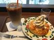 サンマルクカフェ/軽めのランチにデニブランとアイスカフェラテ