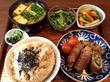 長芋とオクラの肉巻き焼き