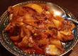 ストレスを吹き飛ばす複雑な辛みと酸味!「ジャガイモとキムチ炒め」おやつ感覚でパクパクいける♪「チヂミ」 中野・麻辣串焼 豊海屋