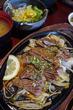 焼肉チェーンの清香園の定食メニューから牛タン定食をネギごはんで!
