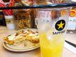 西成ディープ!ビニシーで覆われた極狭立ち飲み!「そうや」@大阪天下茶屋