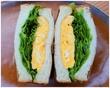 サンドイッチ クラブ オムレツサンドを下北沢の路地裏で♪
