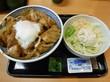 (東久留米市) - 吉野家 新青梅街道島忠小平店 「鶏すき丼(大盛)・ポテトサラダ」