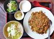 中国醤油を使った黒い老抽炒飯はイチオシ 香福園@つくば市