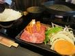和牛丼の店 丸善@長田神社近く「厳選焼肉6種盛り」