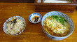 組合せ自由で、700円の「お昼の定食」@「うどん一(はじめ)」