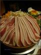 個室でせいろ鍋の野菜と三元豚を堪能!【立川】七色立川北口店